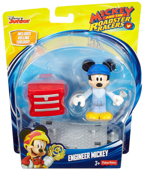 Fisher Price Disney Mickey & Roadster Racers Engineer Mickey Action Figure