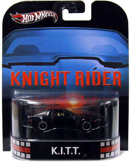 Hot Wheels Knight Rider HW Retro Entertainment K.I.T.T. Diecast Car [Damaged Package]