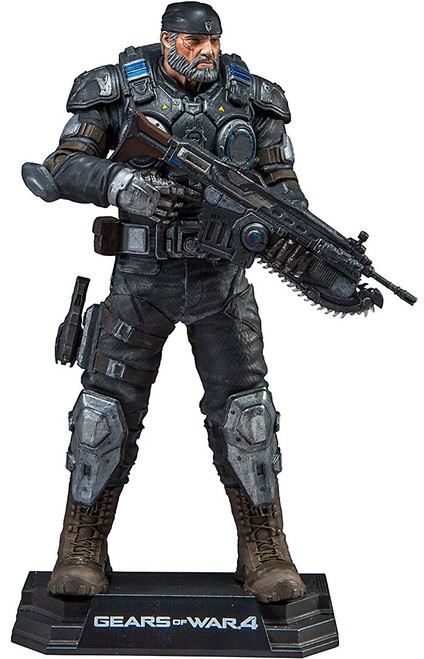 McFarlane Toys Gears of War 4 Color Tops Marcus Fenix Action Figure