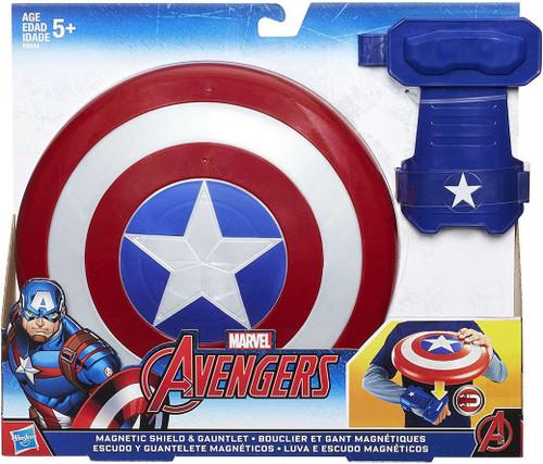 Avengers Captain America Magnetic Shield & Gauntlet