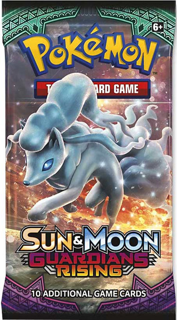 Pokemon Trading Card Game Sun & Moon Guardians Rising Booster Pack [10 Cards]
