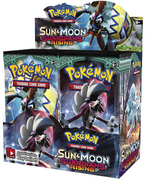 Pokemon Trading Card Game Sun & Moon Guardians Rising Booster Box [36 Packs]
