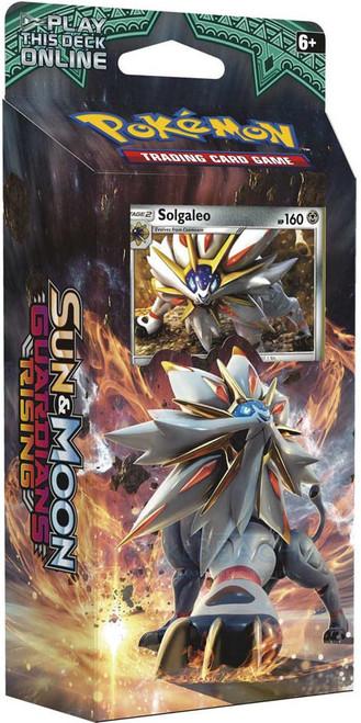 Pokemon Trading Card Game Sun & Moon Guardians Rising Steel Sun Theme Deck [Solgaleo]