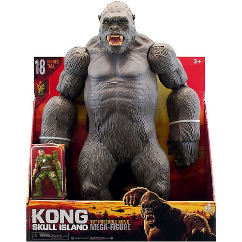 King Kong Skull Island Kong Exclusive Mega Action Figure [Poseable]