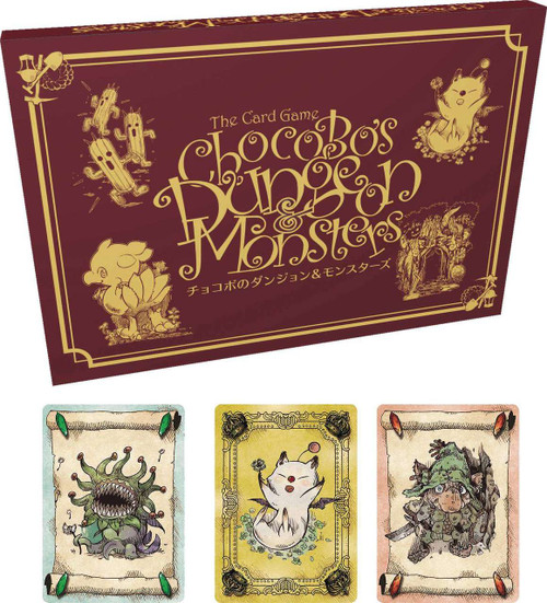Final Fantasy Chocobo Crystal Hunt Dungeon and Monsters Expansion Pack Card Game