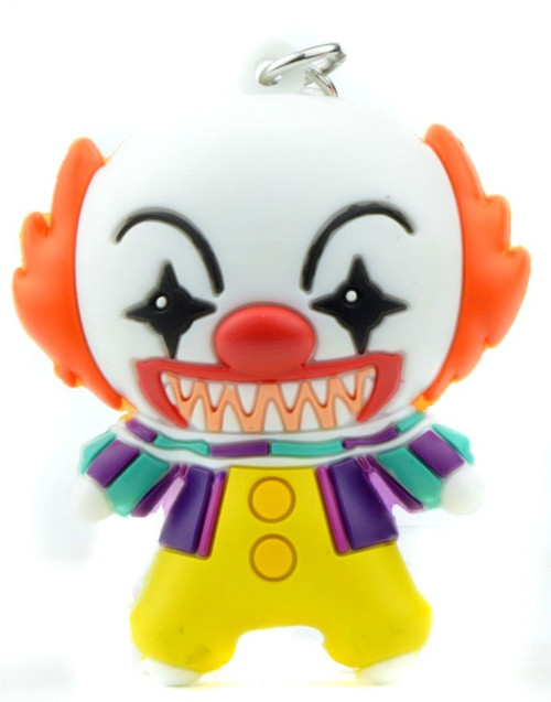 Horror 3D Foam Key Ring Pennywise The Clown Keychain [Loose]
