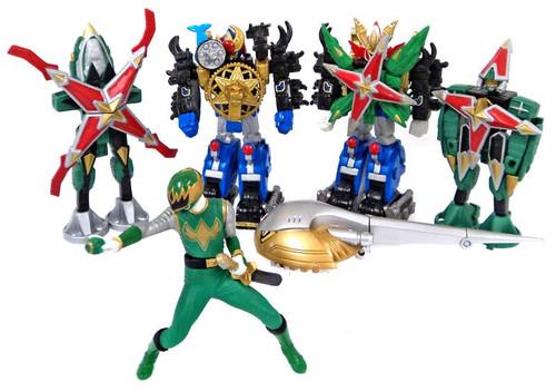 Power Rangers Dino Thunder Series 3 Micro PVC Set