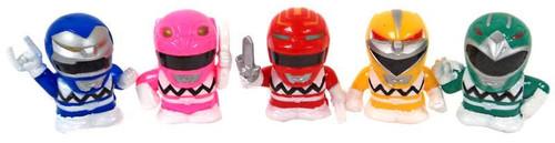 Power Rangers Dino Thunder Deformed 5 Figure Set
