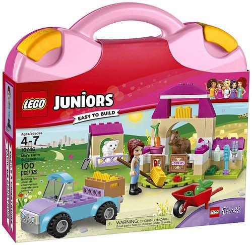 LEGO Juniors Friends Mia's Farm Suitcase Set #10746