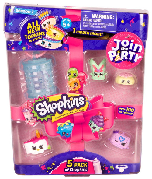 Shopkins Join the Party Season 7 Mini Figure 5-Pack