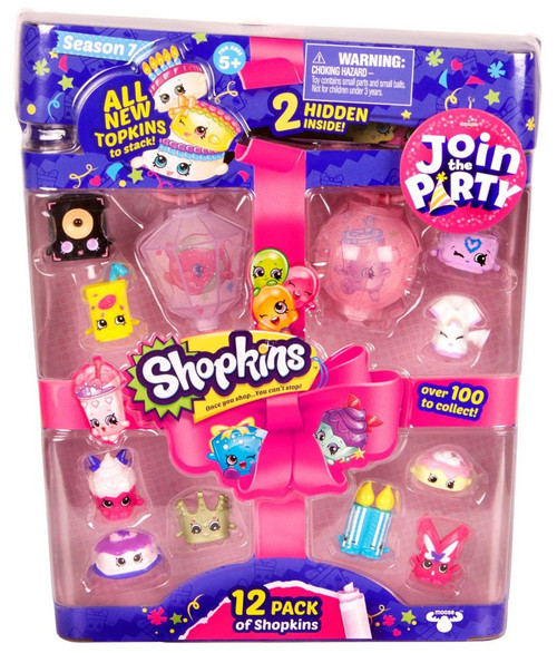 Shopkins Join the Party Season 7 Mini Figure 12-Pack