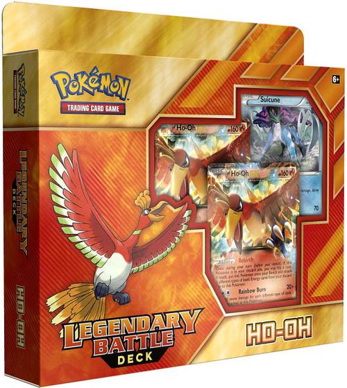 Pokemon Trading Card Game Ho-Oh Legendary Battle Deck [60 Cards]