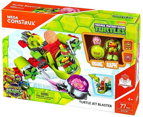 Mega Construx Teenage Mutant Ninja Turtles Animation Turtle Jet Blaster Set