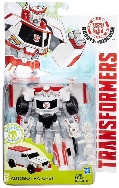 Transformers Robots in Disguise Mini-Con Weaponizers Autobot Ratchet Warrior Action Figure
