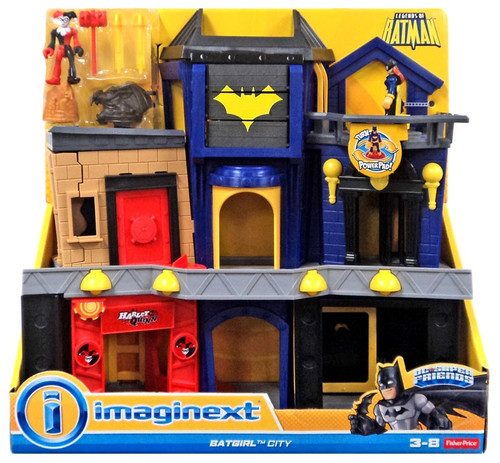 Fisher Price DC Super Friends Imaginext Batgirl City Exclusive Playset