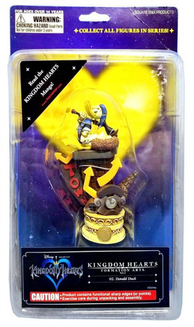 Disney Kingdom Hearts Formation Arts Series 1 Donald Duck Figure