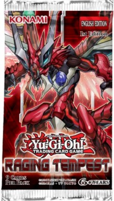 YuGiOh Trading Card Game Raging Tempest (1st Edition) Booster Pack [9 Cards]