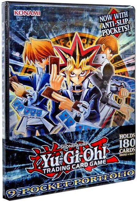 YuGiOh Trading Card Game Classic Duelist Portfolio 9-Pocket Binder