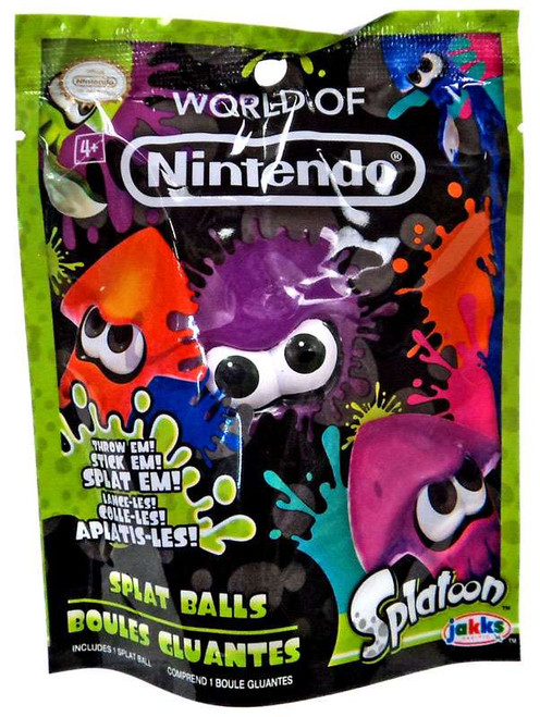 Splatoon World of Nintendo Purple Squid Splat Ball