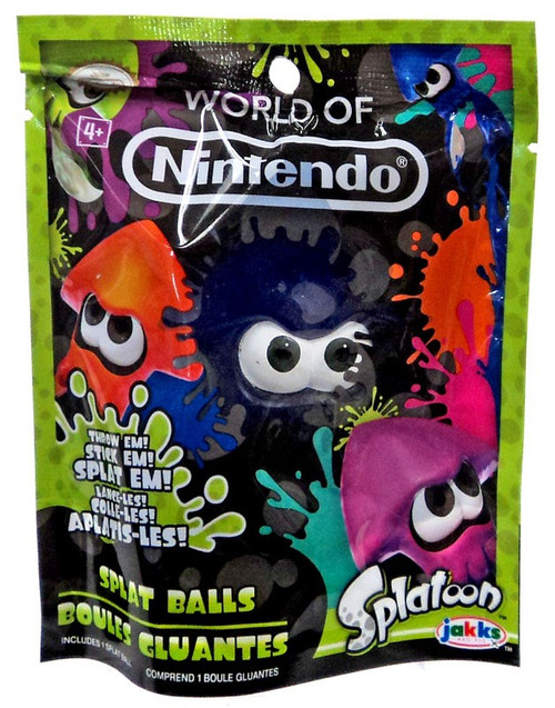 Splatoon World of Nintendo Blue Squid Splat Ball