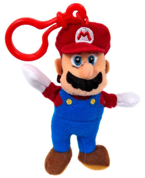 World of Nintendo Super Mario Mario 5-Inch Plush Hanger