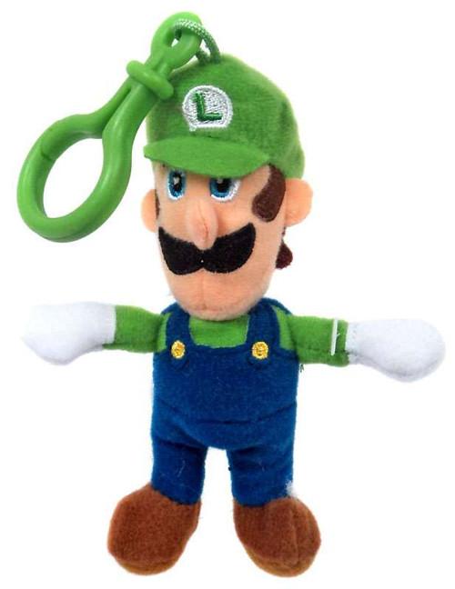 World of Nintendo Super Mario Luigi 5-Inch Plush Hanger