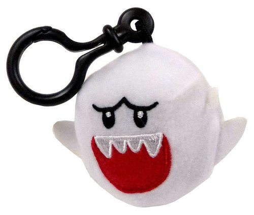 World of Nintendo Super Mario Boo 5-Inch Plush Hanger