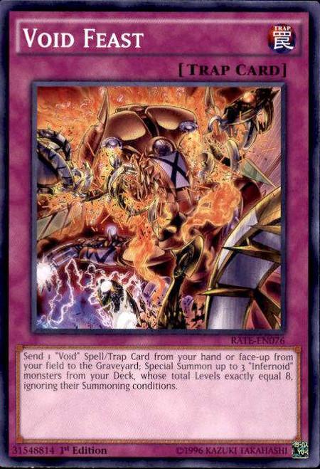 YuGiOh Raging Tempest Common Void Feast RATE-EN076
