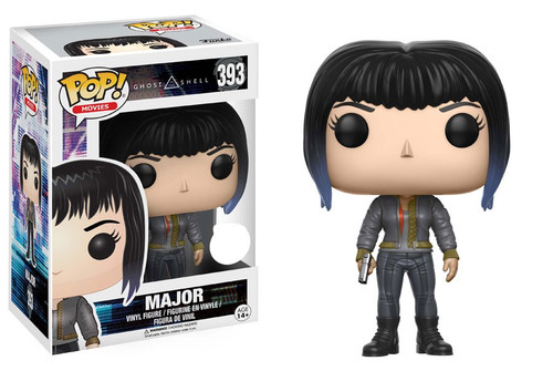 Funko Ghost in the Shell POP! Movies Major Exclusive Vinyl Figure #393 [Black Leather Jacket]