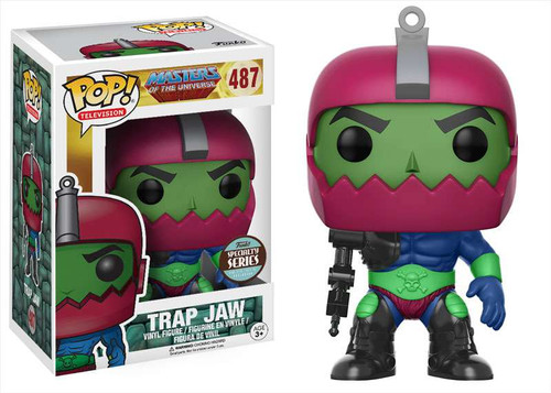 Funko Masters of the Universe POP! TV Trap Jaw Exclusive Vinyl Figure #487 [Specialty Series]