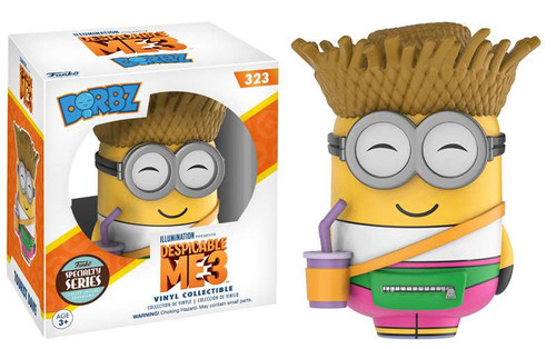 Funko Despicable Me Dorbz Tourist Dave Exclusive Vinyl Figure #323 [Specialty Series]