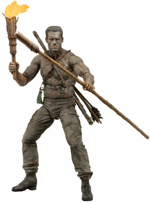 NECA Predator 30th Anniversary Jungle Disguise Dutch Action Figure