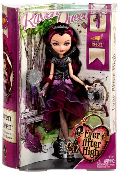 Ever After High Rebel Raven Queen Doll