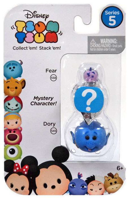 Disney Tsum Tsum Series 5 Fear & Dory 1-Inch Minifigure 3-Pack #558 & 545