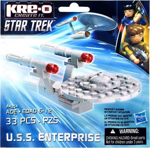 Star Trek The Original Series Kre-O U.S.S. Enterprise Exclusive Set [Bagged]