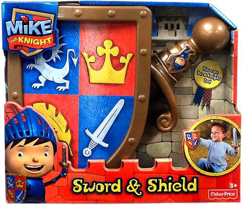 Fisher Price Mike the Knight Sword & Shield Roleplay Toy