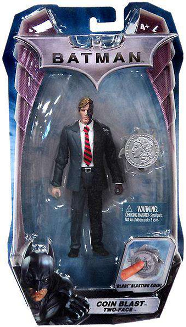 Batman The Dark Knight Two-Face Action Figure [Coin Blast]