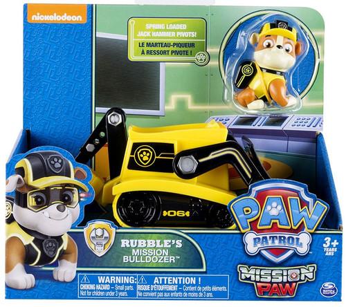 Paw Patrol Mission Paw Rubble's Mission Bulldozer Vehicle