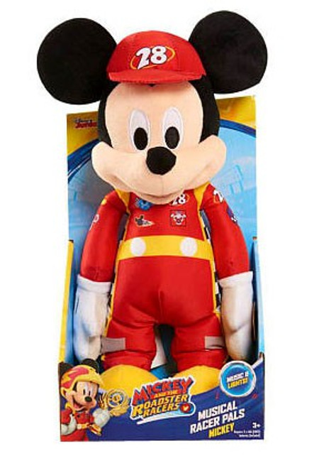 Disney Mickey & Roadster Racers Mickey 12-Inch Plush with Sound