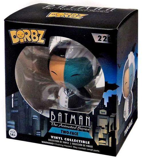 Funko Batman The Animated Series Dorbz Two-Face Exclusive Vinyl Figure