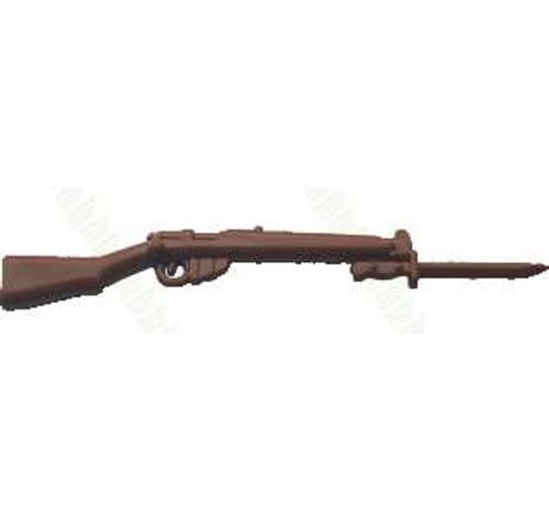 BrickArms SMLE Mk3 with Bayonet 2.5-Inch [Brown]