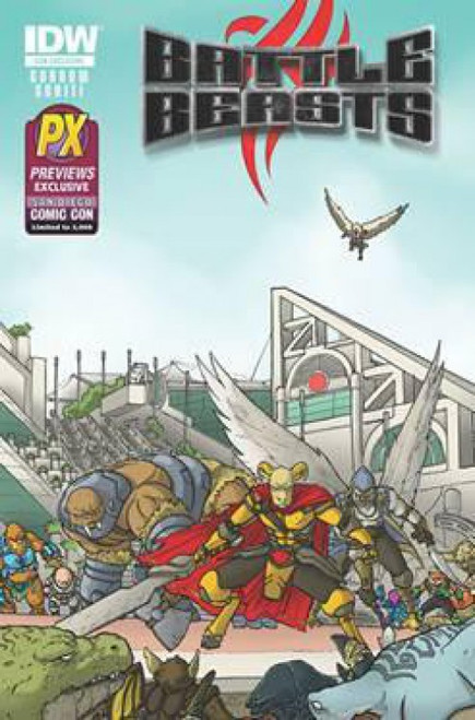Battle Beasts #1 Exclusive Comic Book