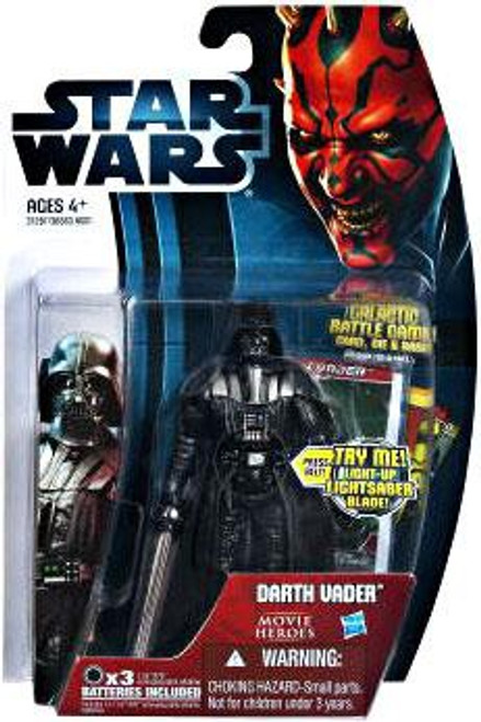 Star Wars The Empire Strikes Back 2012 Movie Heroes Darth Vader Action Figure #20 [Version 2]