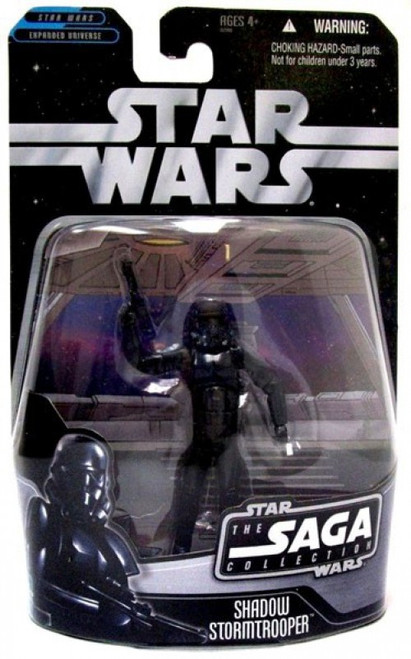 Star Wars Expanded Universe 2006 Saga Collection Shadow Stormtrooper Exclusive Action Figure