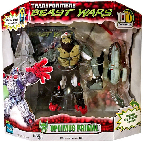 Transformers Beast Wars 10th Anniversary Series 2 Optimus Primal