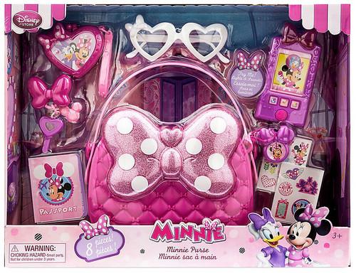 Disney Minnie Mouse Minnie Purse Exclusive Playset