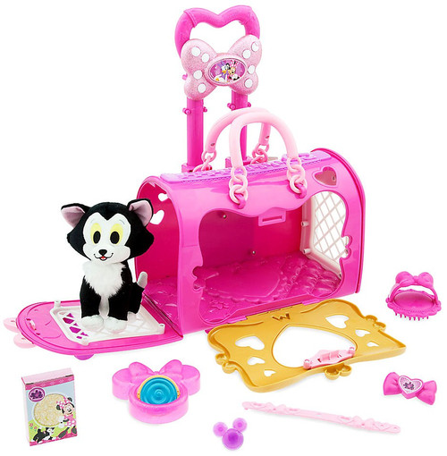 Disney Minnie Mouse Happy Helpers Pet Carrier Exclusive Set [Plush Figaro]