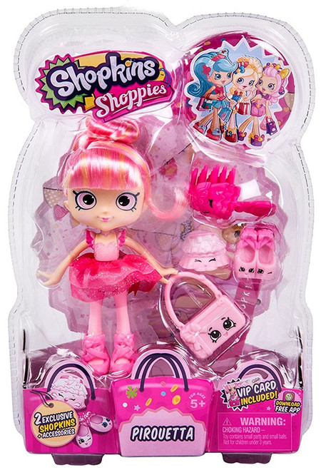 Shopkins Shoppies Pirouetta Doll Figure