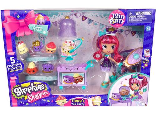Shopkins Shoppies Tippy's Tea Party Exclusive Playset