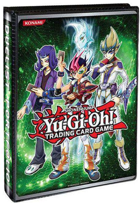 YuGiOh Trading Card Game Card Supplies Duelist Portfolio 4-Pocket Binder